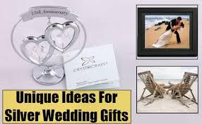 unique wedding anniversary gifts tbrb info Silver Wedding Anniversary Emcee Script unique ideas for silver wedding gifts diffe Wedding Reception Program