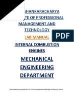 THERMAL ENGINEERING LAB MANUAL   Viscosity   Boiler