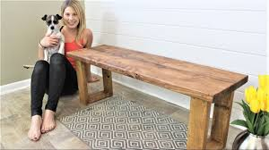 Diy Bench The 15 Fifteen Minute Bench Diy Project Youtube