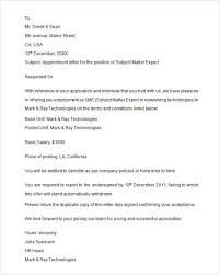 Beautiful Appoint Letter Format | Utah Staffing Companies
