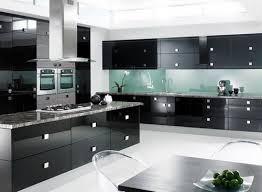 modern black kitchens. Beautiful Modern Exotic Modern Black Kitchen Cabinet Inspiration Design In Kitchens