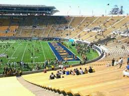 Uc Berkeley Football Stadium Seating Chart California Memorial Stadium Section Tt Row 51 Home Of