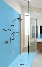 bathroom lighting zones showers