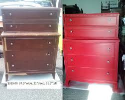 shabby chic red furniture. transformations vintage painted shabby chic furniture red