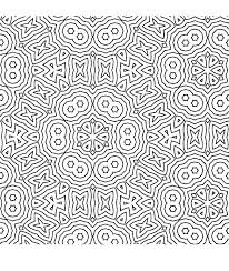 Geometric Coloring Pages Sheets Free Printable Shapes Pattern Art