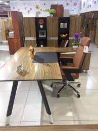 large office table. Large L \u2013 Shape Office Desk With Cabinet Table