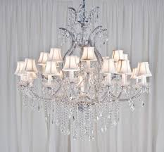 image of foyer crystal chandeliers design
