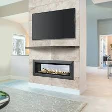 beautiful see through fireplace insert or ideas of how to reuse and recycle old tires gas ideas see through fireplace insert