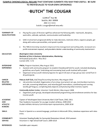 college resume for athletes