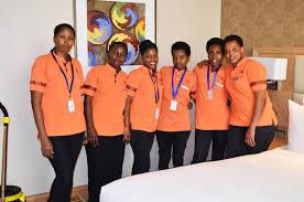 marriott housekeeping 27 wfwi program graduates employed by marriott hotel in rwanda