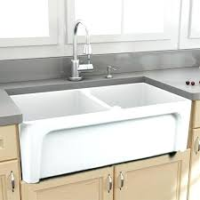 fireclay sink review double bowl kitchen sink fireclay farmhouse sink durability