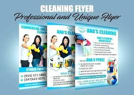 Commercial Cleaning Flyers Office Cleaning Flyers Huxos
