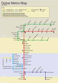 Dubai Metro Map Interactive Route And Station Map
