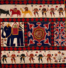 the fabric of india about exhibition victoria and albert museum amazing indian wall hangings