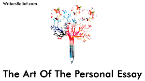 The Art Of The Personal Essay The Art Of The Personal Essay Writers Relief Medium