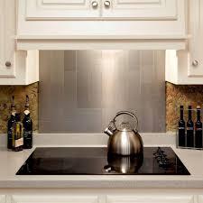 elegant kitchen backsplash stainless steel wall tiles home depot tile ideas metal sheets aluminum ceramic bathtub