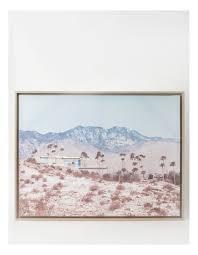 vue vue palm springs wall art 80x60cm