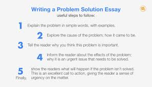 10 Steps To Writing An Essay How To Write A Problem Solution Essay That Inspires Action