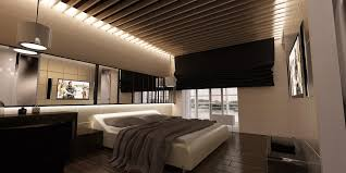 Modern Bedrooms Designs Gorgeous Modern Bedroom Design With Wooden Floor And Ceiling