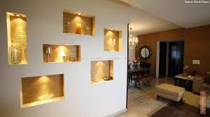 living room wall lighting. Wall Niche, White Wall, Lighting, Lobby Living Room Lighting