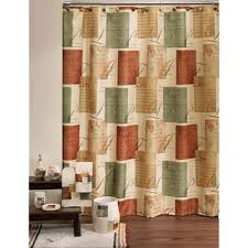 rust colored shower curtain ideas home blog