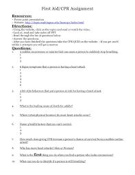 Cpr revision worksheet revised 3 2-11