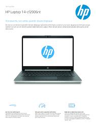 HP Laptop 14-cf2006nt