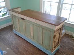 custom bar island counter