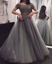 Chic Gold Off Shoulder Long Sleeve Ball Gown <b>Appliques Satin</b> ...