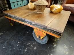 vintage factory furniture. Reclaimed Vintage Factory Cart Coffee Table Denver Furniture Store H