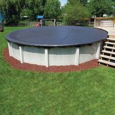 Image Unavailable Amazon.com : 8-Year 24 ft Round Pool Winter Cover Swimming
