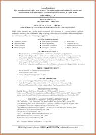 dental assistant resume event planning template dental assistant resume samplesresume objective example resume