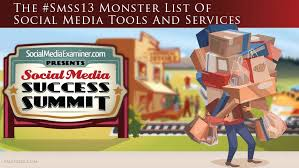 The #SMSS Monster List Of Social Media Tools & Services by Ralf Skirr