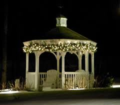 christmas lights ideas homesfeed. beautiful homesfeed lighted gazebo with outdoor design and white wooden style on christmas lights ideas homesfeed a