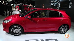 2018 kia rio hatchback. plain hatchback 2018 kia rio paris auto show  video with kia rio hatchback
