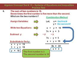 choose the any method to solve the system of linear equations