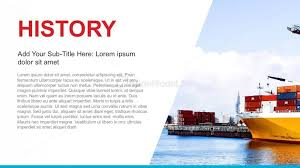 History Background For Powerpoint Company History Powerpoint Template Slidemodel