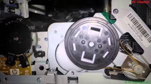hp printer repair pump motor stalled