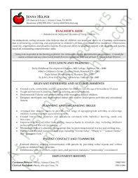 Tutor Resume Description