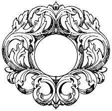 mirror frame outline. Hand Mirror Clipart German Frame Outline M
