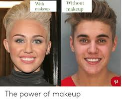 makeup power and the power with makeup without makeup the power of makeup