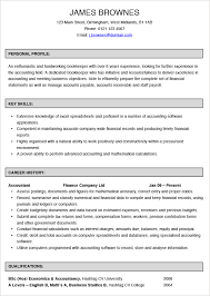 ... Stupendous Bookkeeper Resume 9 Bookkeeper CV Example ...