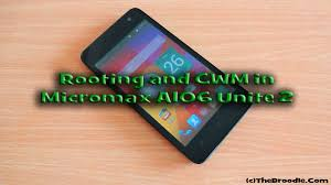 Micromax A106 Unite 2 Root and Install ...