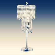 what you ll need for the beaded chandelier lamp 1 lamp shade 2