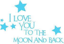 Quote I Love You To The Moon And Back Classy Nursery Wall Quotes Baby Quotes I Love You To The Moon