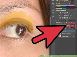 image led apply makeup in adobe photo cs3 step 4