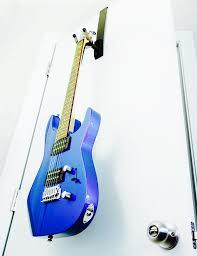 doorjamz guitar door hanger black