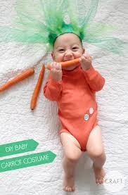 homemade costumes for babies diy carrot costume
