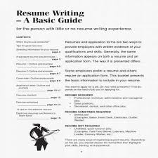 Tips For A Good Resume Elegant How To Write An Excellent Resume 10