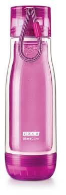 Купить <b>Колба стеклянная</b> Zoku <b>475 мл</b> фиолетовая по низкой ...
